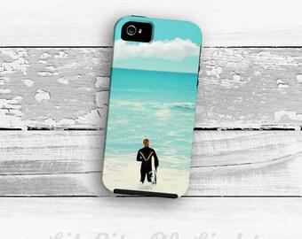 Surfer iPhone 7 Case - iPhone 6s Plus Cover - iPhone 5s Case - Ocean Beach iPhone 7 Plus Case - iPhone 6 Case - iPhone SE Case - iPhone Case
