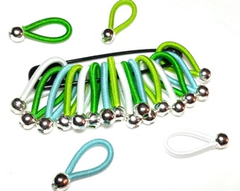 chose SIZE 'Eden' - soft flexible FLOOPS knitting stitch markers