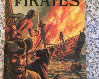 Ladybird Pirates book series 707 1970
