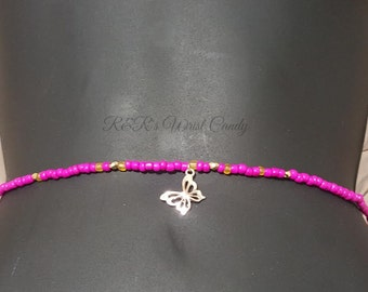 Waist Beads, Beaded Belly Chain, Seed Beads, African Waist Beads, Women's Jewelry, Body Jewelry, Minimalist Jewelry, Women's Body Jewelry