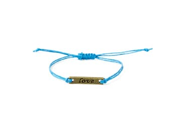 Love Bracelet | Simple bracelet | Bracelet gift | Friendship bracelet | Layer bracelet | Delicate bracelet | Boho bracelet | Stackable