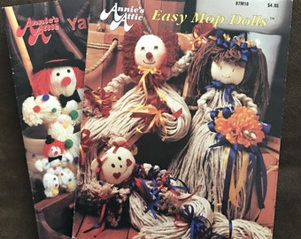 Set of 2 Annie's Mop Doll Books