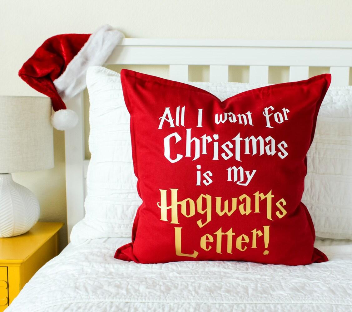 Christmas Decor All I Want for Christmas... Pillow