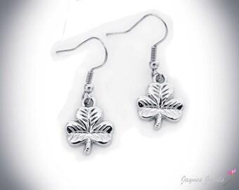 Shamrock Earrings, St Patricks Day, Lucky Shamrock, Irish Shamrock, ,
