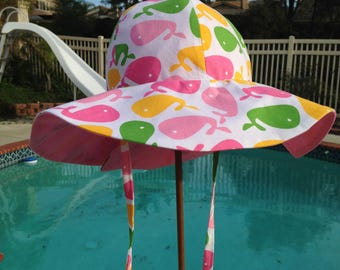 Fully Adjustable and Reversible Sun Hat
