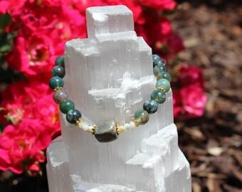 Jasper & Pyrite Bracelet