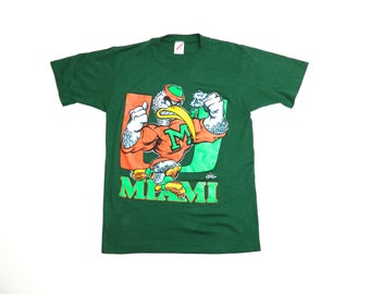 Vintage Univeristy of Miami Hurricanes T-Shirt