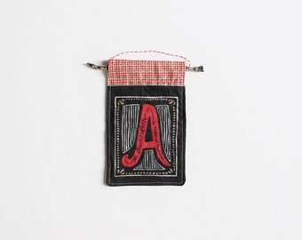 The Scarlet Letter Ornament // Nathaniel Hawthorne Book Ornament // Christmas Ornament // Classic Literature // Gift for Reader