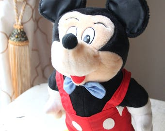 Little Boppers Mickey Mouse, Walt Disney, Worlds of Wonder, WOW, Disney Land, Disney World, Dancing Toy, Collectible, Jiggles, Shuffles