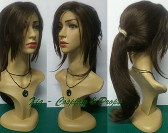 Tomb Raider cosplay wig