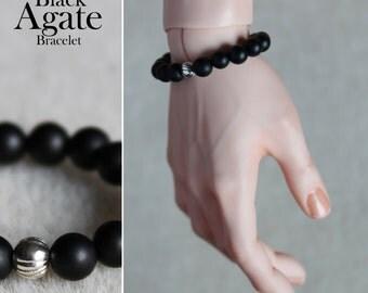 Black Agate Bracelet for BJD
