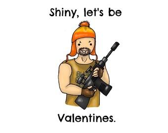 Firefly's Jayne Valentine's Day card