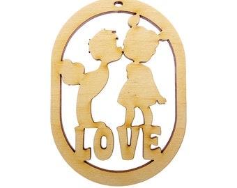 Valentines Ornament - Valentines  Decor - Valentines Ornaments - Love Ornament - Valentines Decorations - Valentine Decor