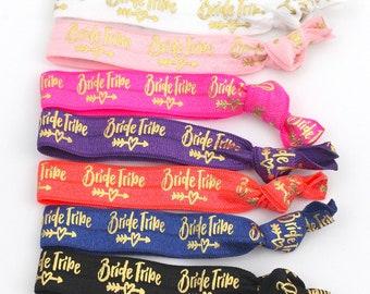 SALE Limited Time  | Bachelorette Party Favors | Team Bride Favors | Elastic Hair Tie Favors | Bridesmaid Gift | Bachelorette Survival Kit