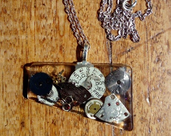 Time Junk Necklace