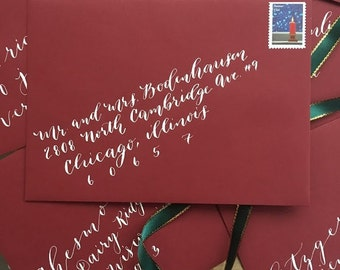 Envelope Calligraphy Address