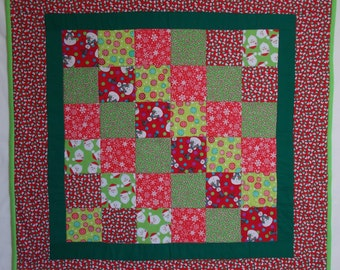 SALE - Winter Holidays Quilt 6