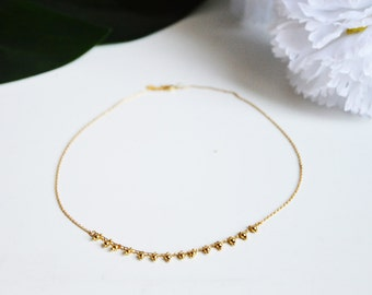 Collier LINA // Doré à l'or fin