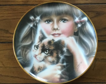 Vitage Wedgwood Collector Plate - Eyes of the Child - My Best Friend