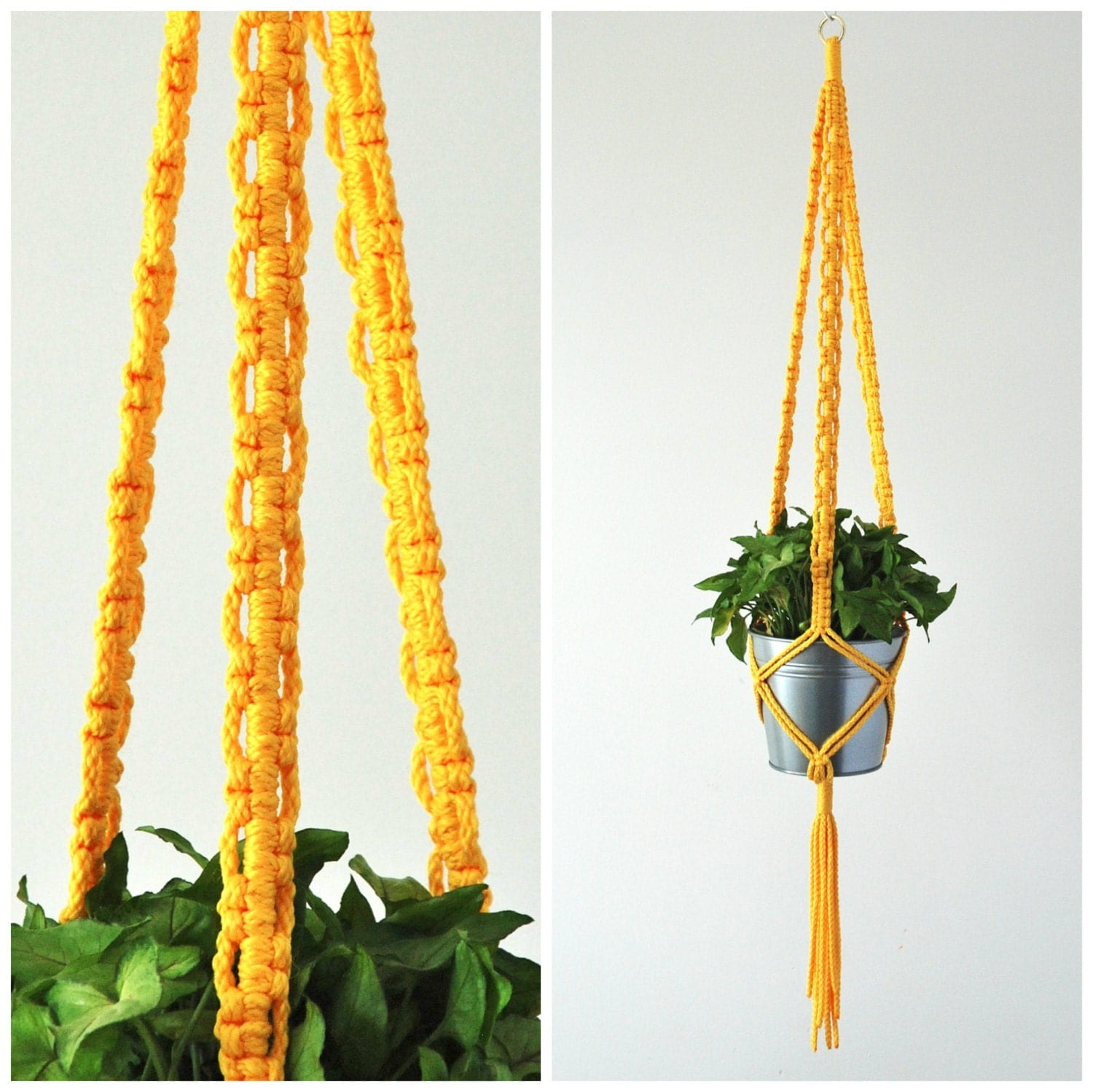 Macrame Plant Hanger Indoor Plant Holder 50 Inch Long
