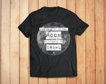 Red Hot Chili Peppers Shirt // Red Hot Chili Peppers Mens TShirt // Astronomy T Shirt - Astronomy Gifts - Moon Shirt // Men's Graphic Tee