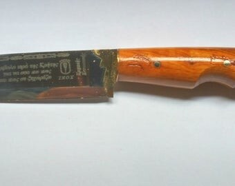 Collectible Handmade crete knife Greek souvenir