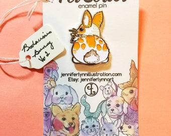 Bodacious Bunny Ver 2 Enamel Pin - Pet Series