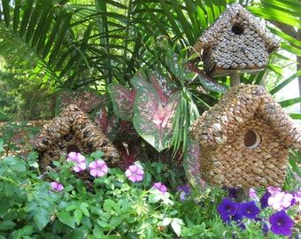 "For Small Songbirds In Your Flower Garden.  To select ""OPTIONS"", read the ""Description"" below; each piece made to order; varies from photos."