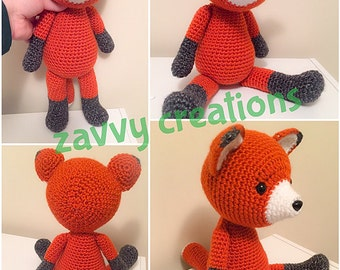 Large Red Fox -- In Stock and FREE Shipping!
