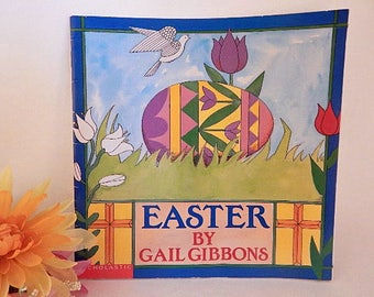 Easter Picture Story Book for Children by Gail Gibbons Christian Religious Easter Celebrations Gift Book Easter Basket Stuffer