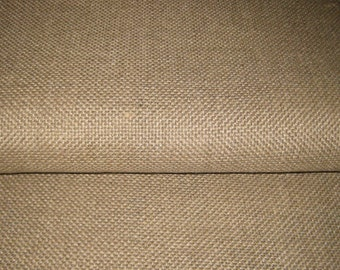 1 yard Unbleached LINEN Rug FOUNDATION FABRIC / Backing for Rug Hooking