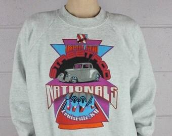NSRA 25th Street Rod Nationals Louisville Kentucky 1994 Vintage Sweatshirt
