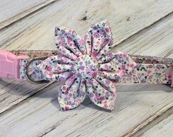 Mini Flowers,  Flower for Dog collar, Cat collar, collar flower, pet collar flower, wedding flower, flowers for dog collars