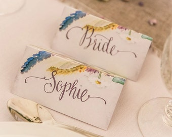 Place Card Wedding Calligraphy