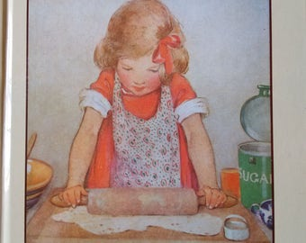 Kitchen Fun A Cook Book for Children by Louise Price Bell