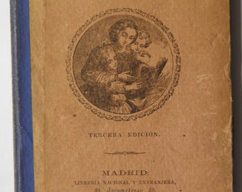 La Cartilla Ilustrada Spanish Children's Book 1885