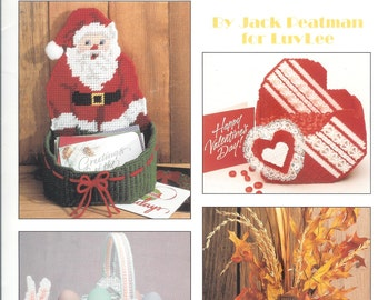 Holiday Keepers in Plastic Canvas Leaflet #1246 by Leisure Arts