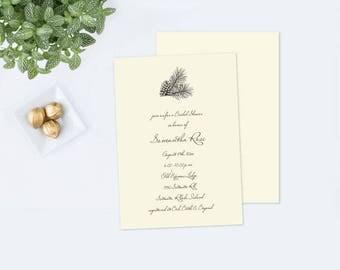 Editable pdf Rustic BRIDAL SHOWER INVITE, Bridal Shower, Instant Download, Editable Invitation, Shower Invitation, Wedding Shower Template