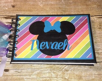 Personalized Disney Autograph Book