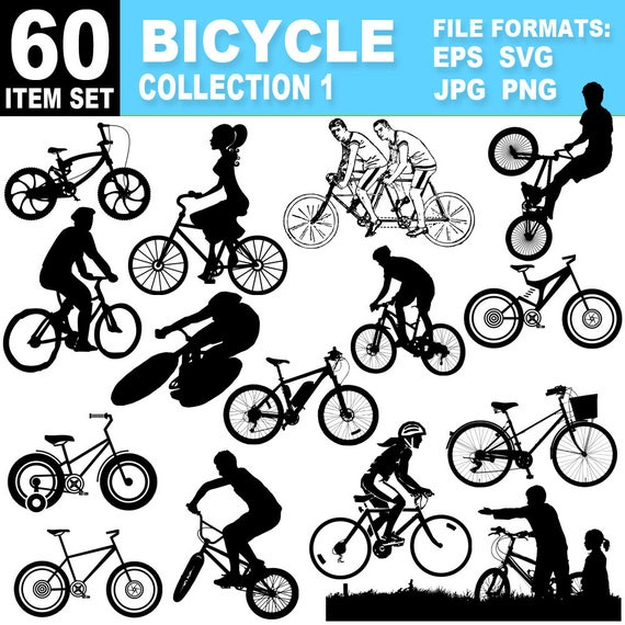 Bicycle Clipart Collection Cycling Images Eps Ai Svg Vectors Png Jpg Clip Art Bike Image Files