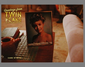Twin Peaks Gold Box Postcard Card # 19 of 61 Laura Palmer's Photograph