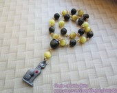 SALE Bast Prayer Beads