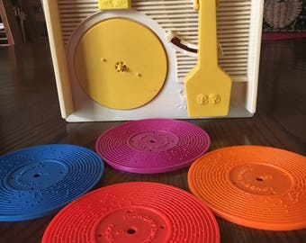 Fisher Price Windup Record Player