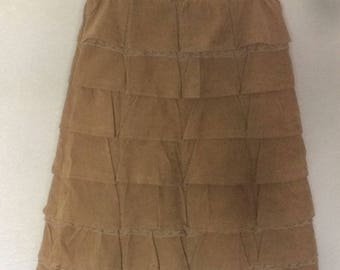 Wonderful Miu Miu Ruffled Layered Skirt