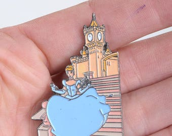 Cinderella, Disney pins, princess pins, Disney enamel pin, lapel pin, enamel pin
