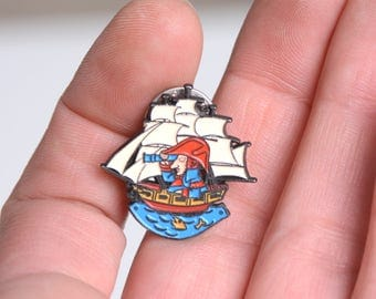 Enamel pin, lapel pin, Napoleon, history enamel pin, history lapel pin, fun lapel pin, cool pins