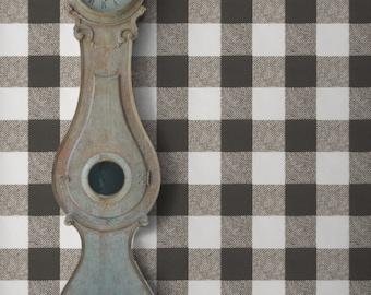 Buffalo Blanket Check Self Adhesive Wallpaper FREE color revisions!