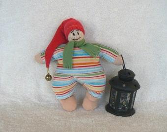 Dwarf Christmas gnome textile toys doll Nursery Ready to ship