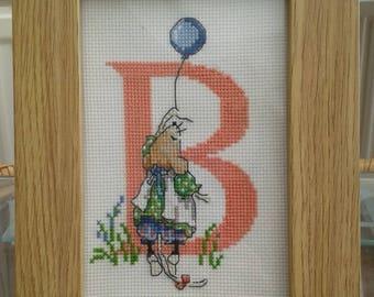 Cross Stitch Alphabet - 'B'