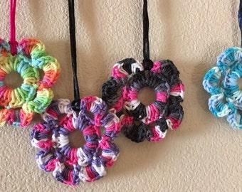 Crochet Bloom Necklace